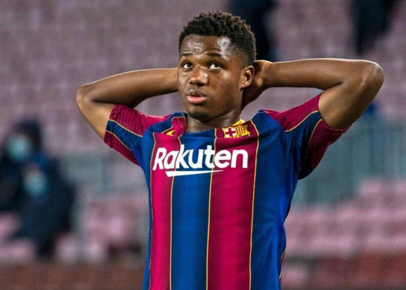 Ansu Fati - Onze d'Afrik - L'actualité du football