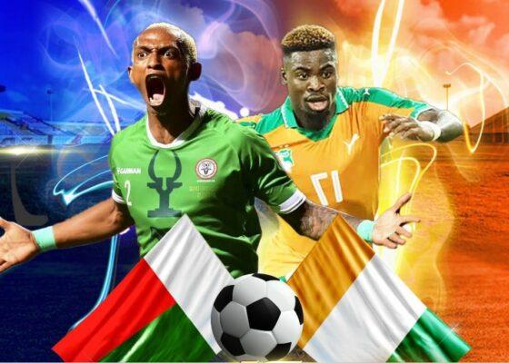 Gervinho a ouvert le score pour la Côte d'Ivoire face à Madagascar