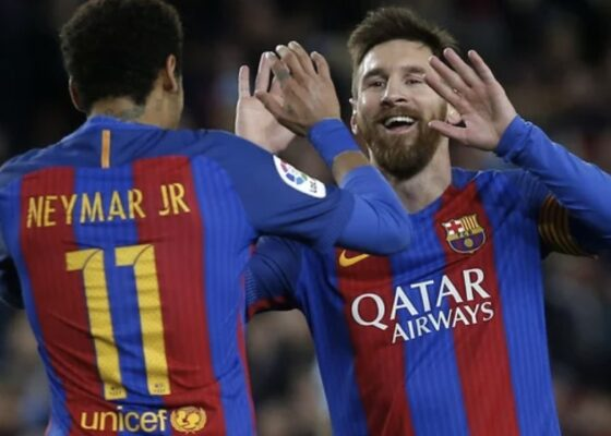 messi neymar - Onze d'Afrik - L'actualité du football