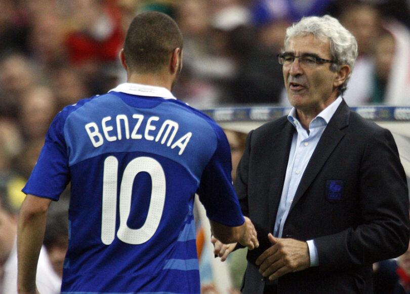 Benzema tacle par Domenech - Onze d'Afrik - L'actualité du football
