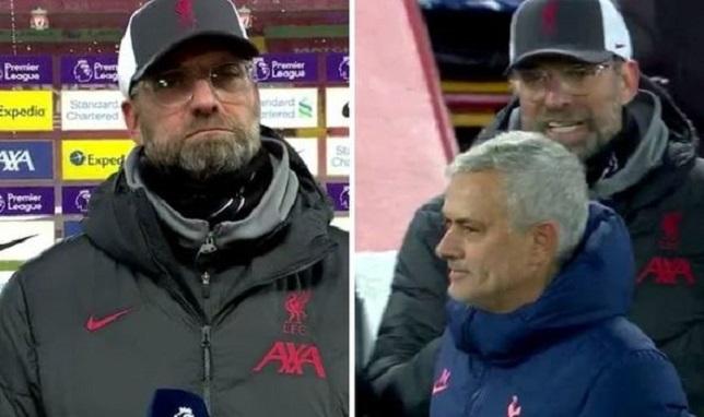 Liverpool boss Jurgen Klopp clashed with Jose Mourinho 1373467 - Onze d'Afrik - L'actualité du football