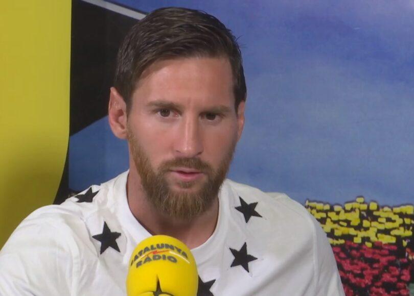 leo messi entrevista barca foto catalunya radio - Onze d'Afrik - L'actualité du football