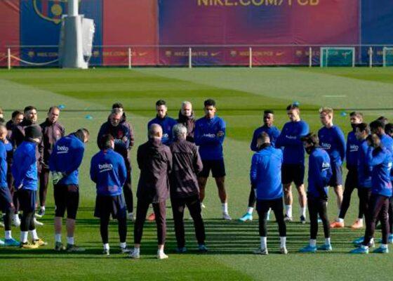 entrenamiento del fc barcelona - Onze d'Afrik