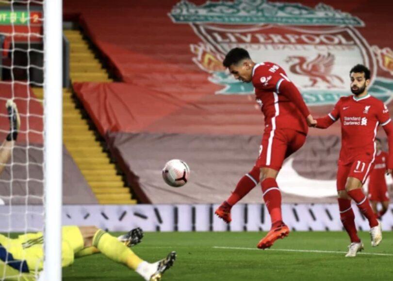 Roberto Firmino égalisant contre Sheffield United - Onze d'Afrik - L'actualité du football