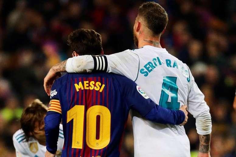 Sergio Ramos et Lionel Messi - Onze d'Afrik - L'actualité du football