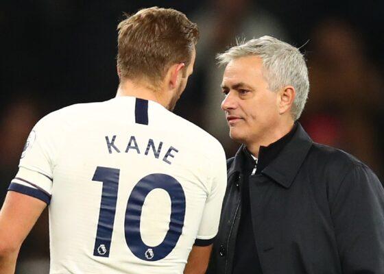 harry kane jose mourinho tottenham 2019 20 k5r9evxcyjb91uodr3uv41tvx - Onze d'Afrik