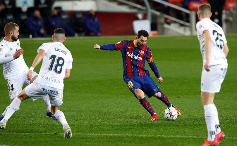 Lionel Messi vs Huesca 1 - Onze d'Afrik