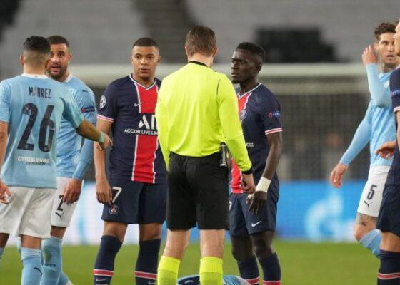 Idrissa Gueye PSG v Manchester City 752x428 1 - Onze d'Afrik - L'actualité du football