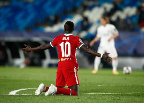 Sadio Mane fouled for Liverpool against Real Madrid - Onze d'Afrik - L'actualité du football