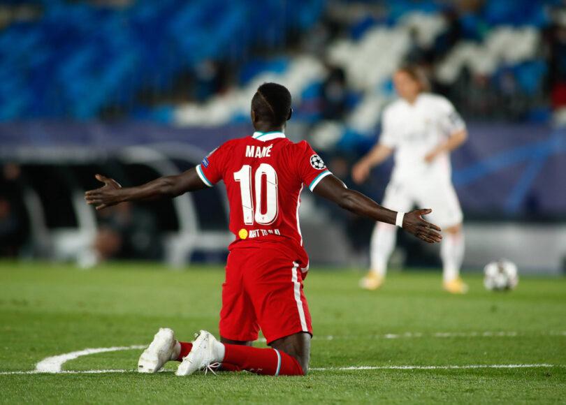 Sadio Mane fouled for Liverpool against Real Madrid - Onze d'Afrik