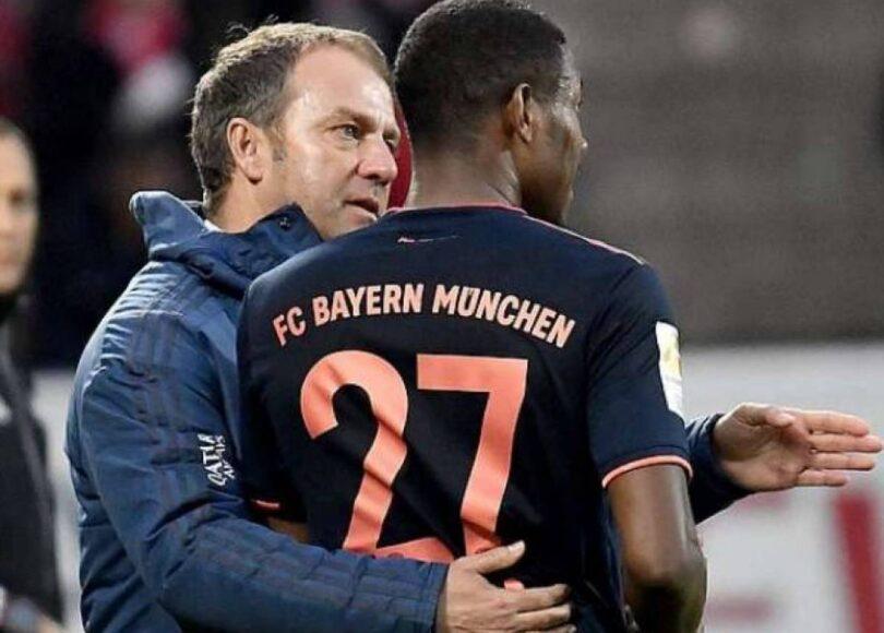 hans dieter flick avec david alaba 273358 - Onze d'Afrik - L'actualité du football