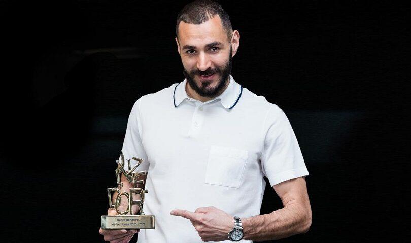 1200 L karim benzema remporte le onze dor du meilleur joueur de la saison - Onze d'Afrik - L'actualité du football