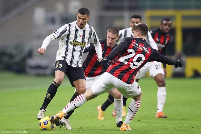 Cristiano Ronaldo Milan AC Juventus Turin - Onze d'Afrik - L'actualité du football