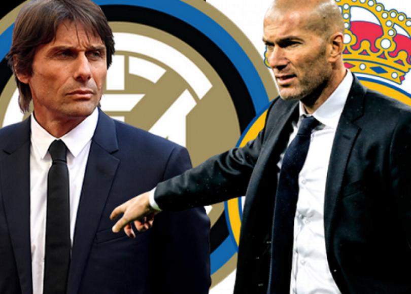 Inter Real Madrid Antonio Conte vs. Zinedine Zidane 1280x720 1 - Onze d'Afrik - L'actualité du football