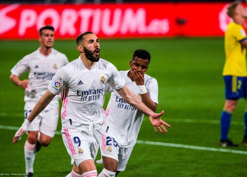 Karim Benzema Cadiz Real Madrid - Onze d'Afrik - L'actualité du football