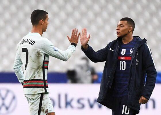 1200 L france portugal kylian mbapp adoube cristiano ronaldo 1 - Onze d'Afrik - L'actualité du football