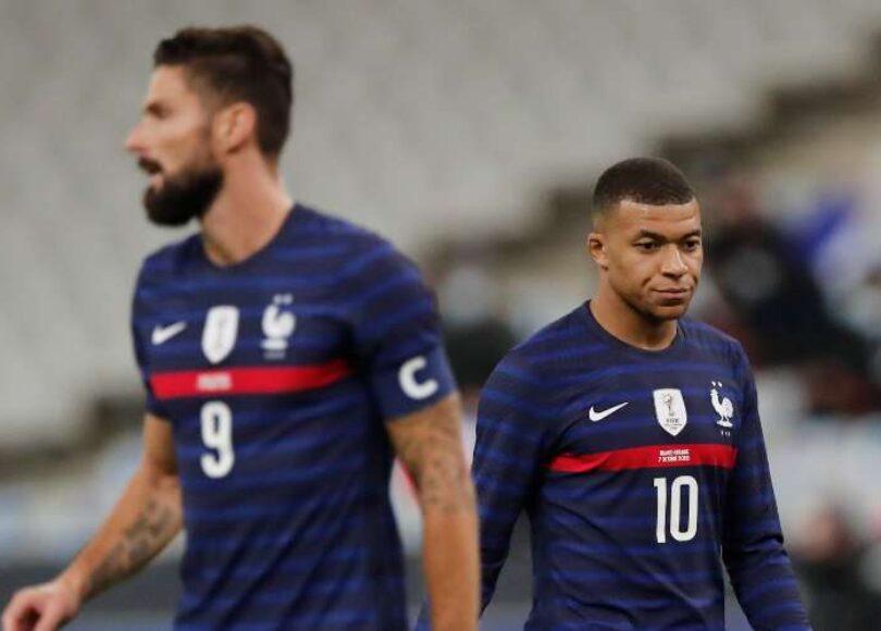Giroud et Mbappe - Onze d'Afrik - L'actualité du football