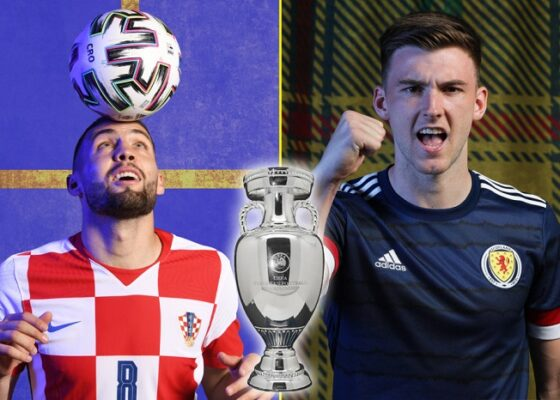TALKSPORT EURO 2020 Croatia v Scotland - Onze d'Afrik - L'actualité du football
