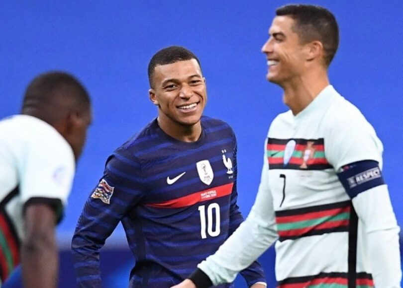 kylian mbappe fan de cristiano ronaldo sa reaction apres avoir joue contre son idole - Onze d'Afrik - L'actualité du football