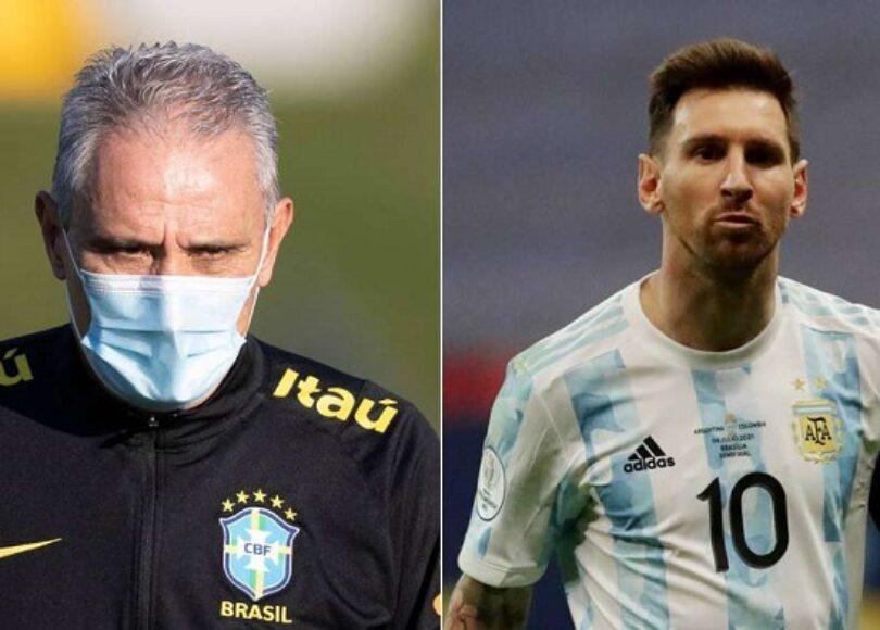 Tite said he has a plan to mark Messi and - Onze d'Afrik - L'actualité du football
