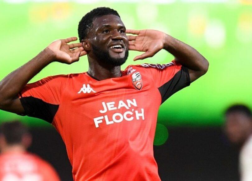 1308 2122 L1 Lorient Monaco Terem Moffi 1 - Onze d'Afrik - L'actualité du football