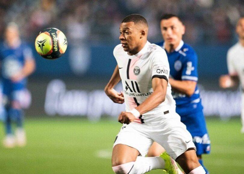 Kylian Mbappe PSG Troyes 1200x800 1 - Onze d'Afrik - L'actualité du football