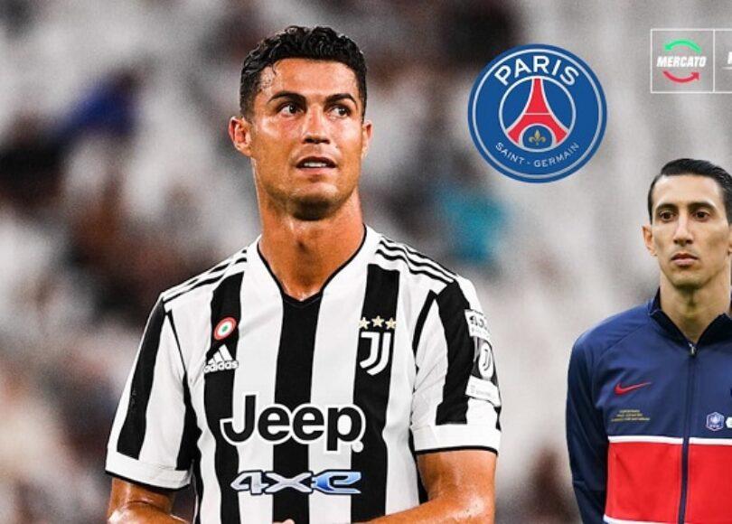 PSG Cristiano Ronaldo mourrait d envie d etre ici confie Di Maria 1084281 - Onze d'Afrik - L'actualité du football