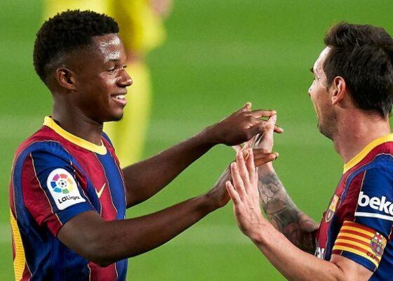 ansu fati and lionel messi cropped 11f2mu3szxu4n115qqak5l0ex0 - Onze d'Afrik - L'actualité du football