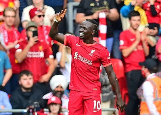 100e but avec Liverpool et un record inedit en Premier League pour Sadio Mane - Onze d'Afrik - L'actualité du football