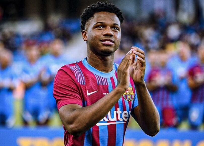 Ansu Fati date du retour - Onze d'Afrik - L'actualité du football