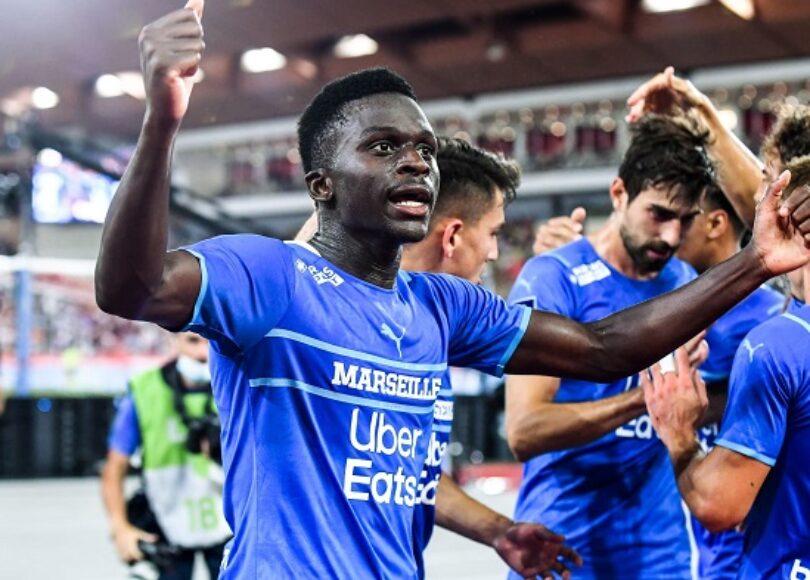 Bamba Dieng apres son double avec l OM 1126552 - Onze d'Afrik - L'actualité du football
