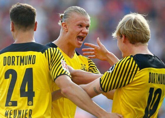 Besiktas Dortmund Erling Haaland - Onze d'Afrik - L'actualité du football