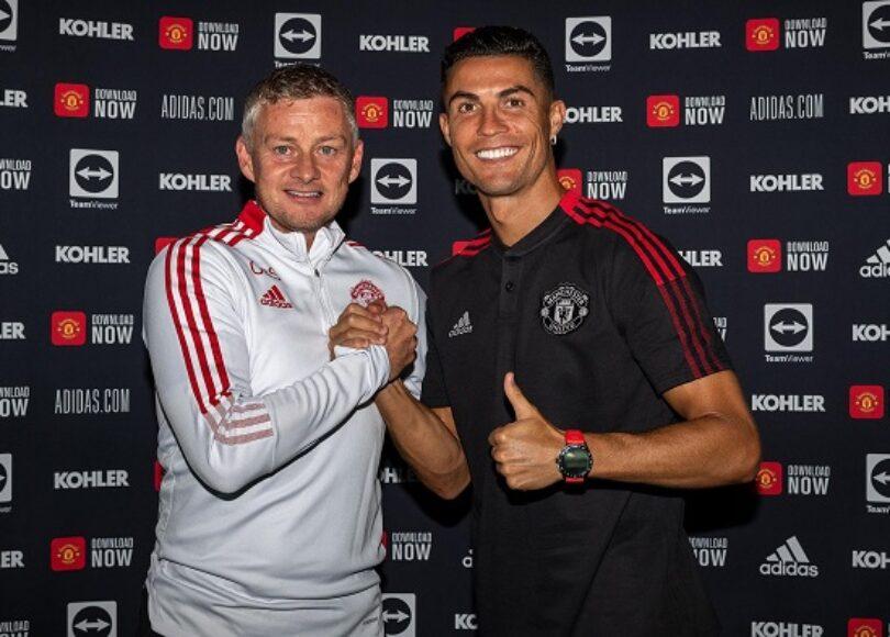 Cristiano Ronaldo Ole Gunar Solskjaer - Onze d'Afrik - L'actualité du football