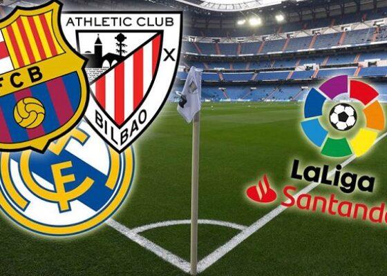 FC Barcelone Real Madrid Athletic Club LaLiga - Onze d'Afrik - L'actualité du football