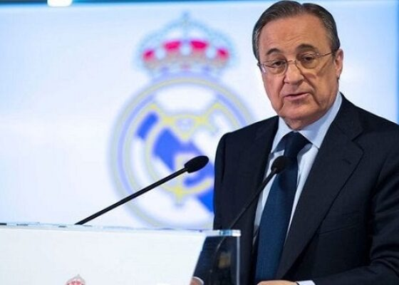 Florentino Perez vice president du Barca Real Madrid - Onze d'Afrik - L'actualité du football
