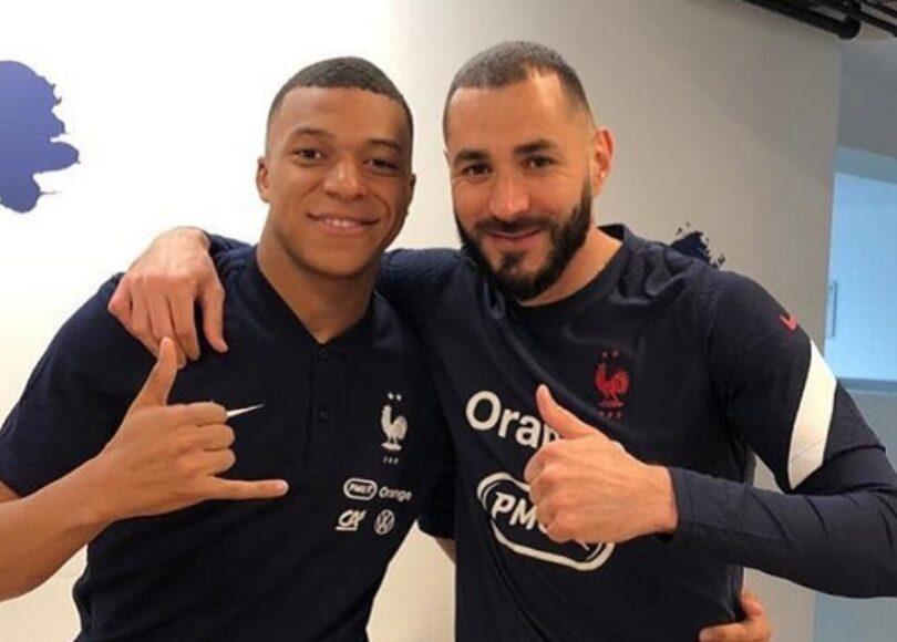 Kylian Mbappe et Karim Benzema 1036689 - Onze d'Afrik - L'actualité du football