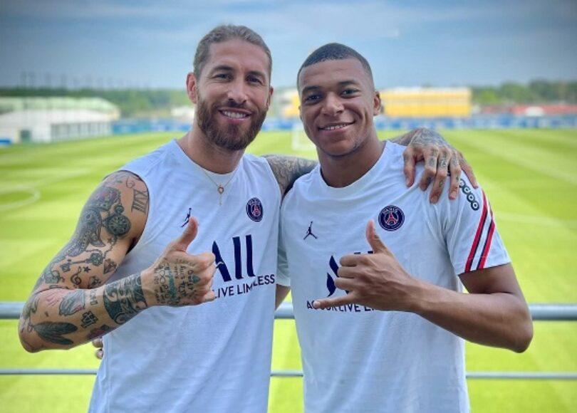 La photo avec Mbappe publiee par Ramos 1072793 - Onze d'Afrik - L'actualité du football