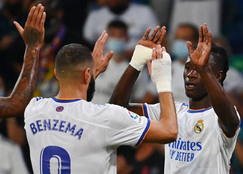 Liga Real Madrid Celta Vigo Benzema Camavinga - Onze d'Afrik - L'actualité du football