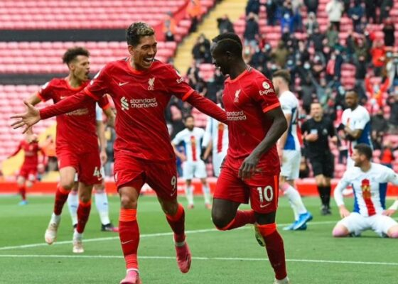 Liverpool Crystal Palace Sadio Mane et Cheikhou Kouyate - Onze d'Afrik - L'actualité du football