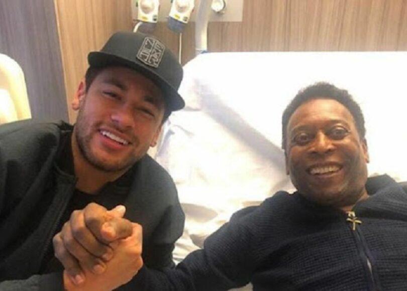 Neymar avec le Roi Pele - Onze d'Afrik - L'actualité du football