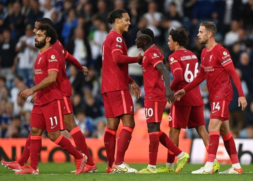 Premier League Liverpool ecrase Leeds sur sa pelouse Sadio Mane buteur - Onze d'Afrik - L'actualité du football