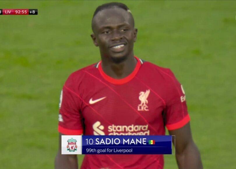 Sadio Mane Liverpool Leeds United - Onze d'Afrik - L'actualité du football