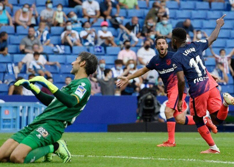 Thomas Lemar Atletico Espanyol but en or - Onze d'Afrik - L'actualité du football