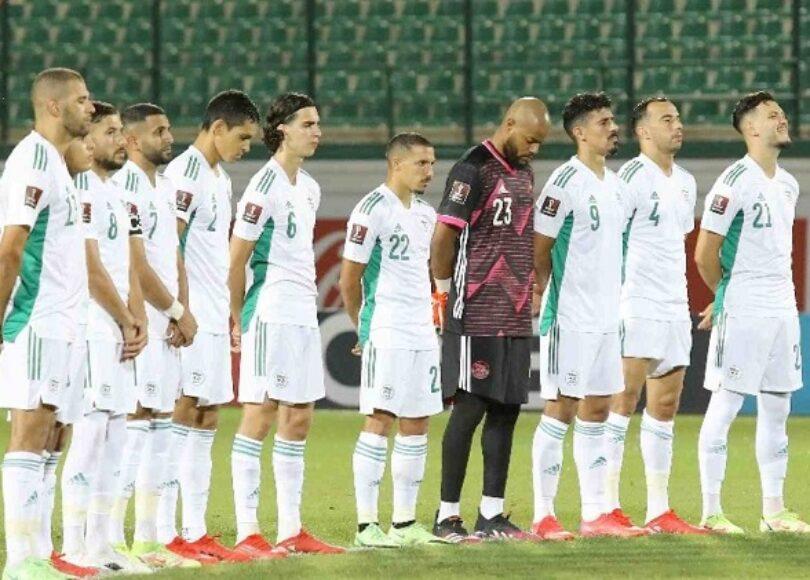 teamgroupe algerie djibouti hommage solidarite slimani e1630854692768 - Onze d'Afrik - L'actualité du football