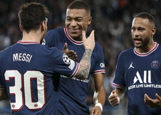 Messi Mbappe Neymar - Onze d'Afrik - L'actualité du football