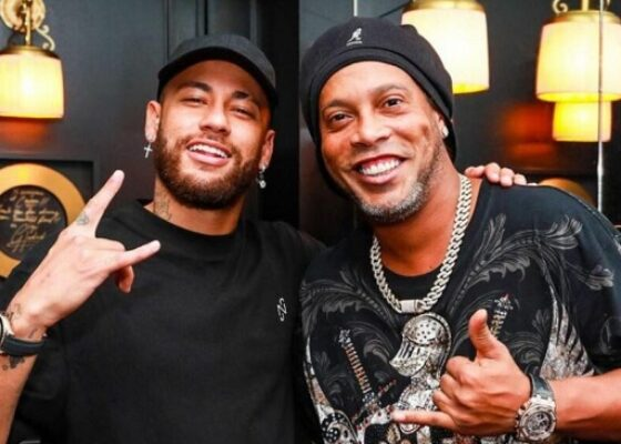 Ronaldinho Neymar - Onze d'Afrik - L'actualité du football